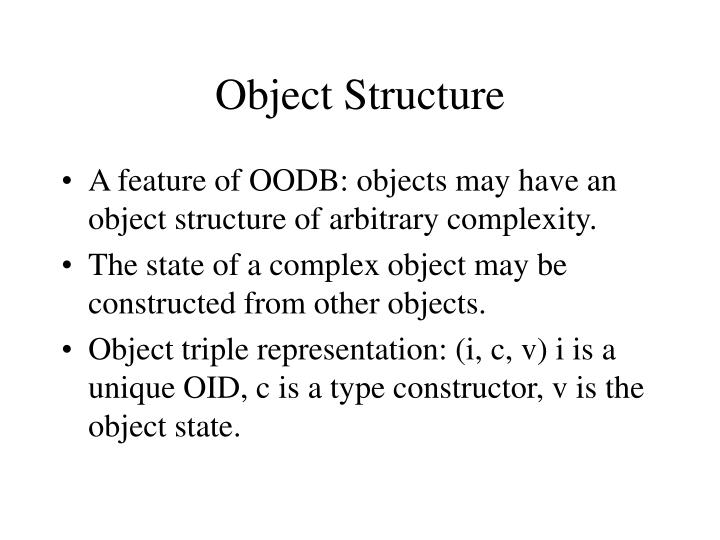 Object Structure