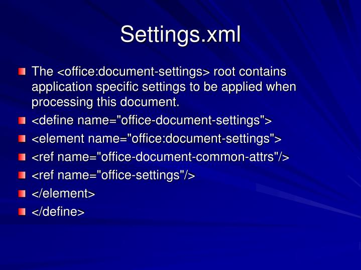 Settings.xml