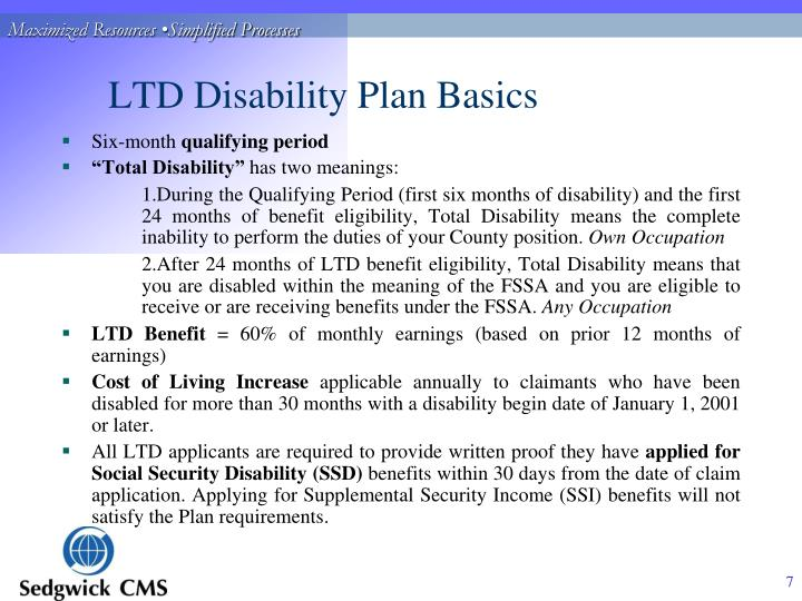 LTD Disability Plan Basics