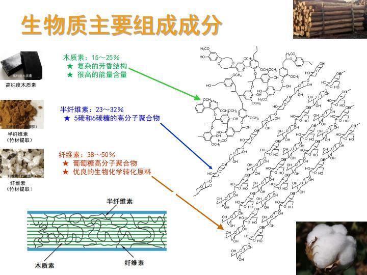 生物质主要组成成分