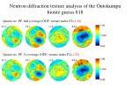 neutron diffraction texture analysis of the outokumpu biotite gneiss 8184