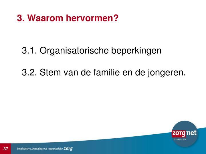 3. Waarom hervormen?