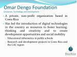 omar dengo foundation education technology and development