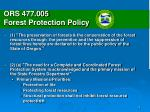 ors 477 005 forest protection policy