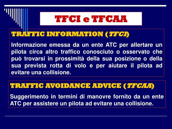 TFCI e TFCAA