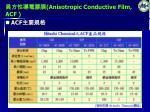 anisotropic conductive film acf4