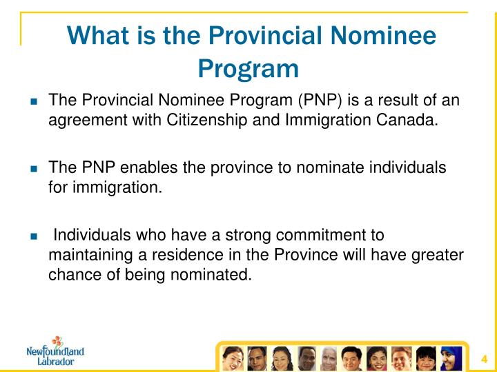 What is the Provincial Nominee Program