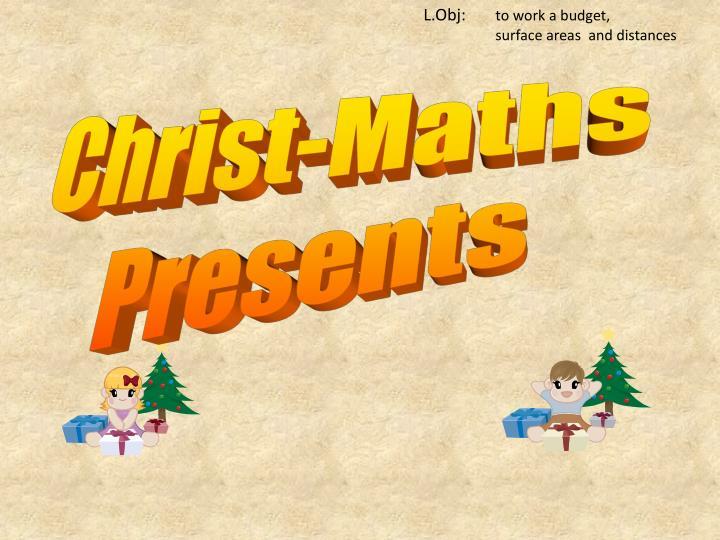 Christ-Maths