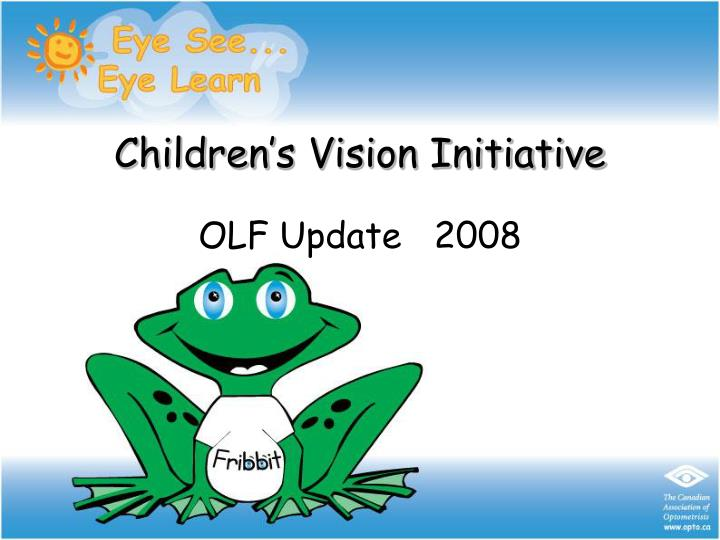 Children s vision initiative