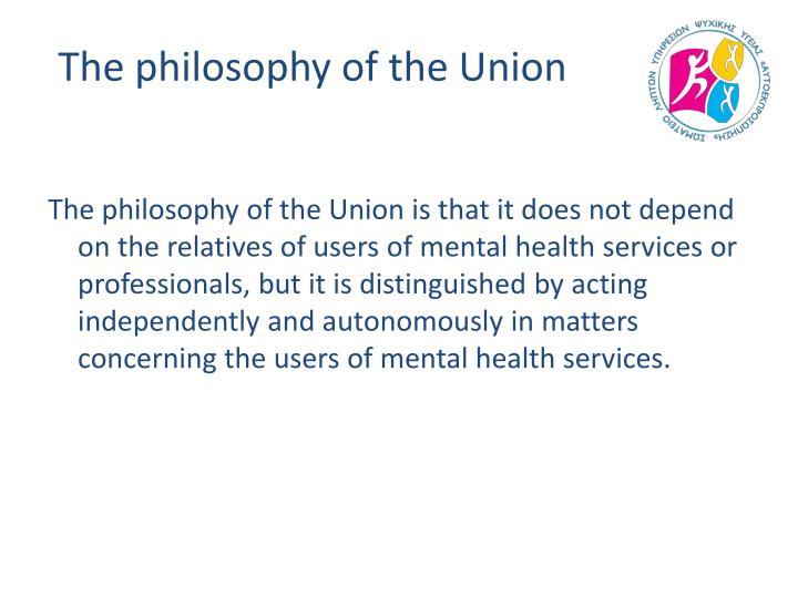 The philosophy of the Union