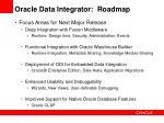 oracle data integrator roadmap