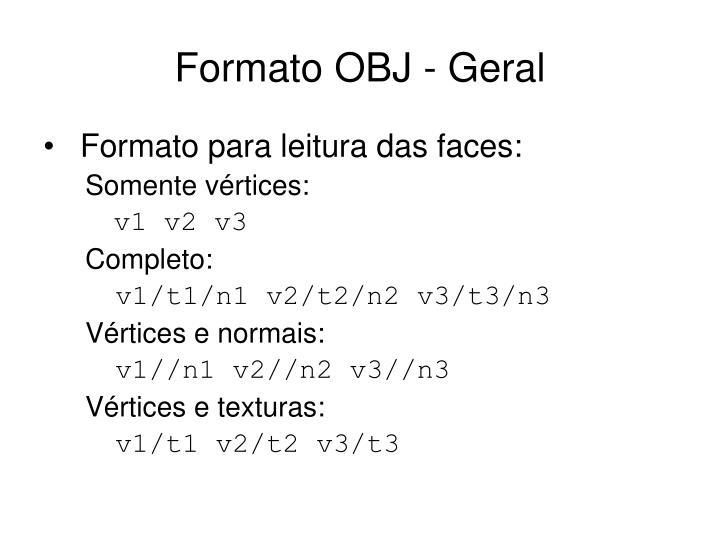 Formato obj geral1