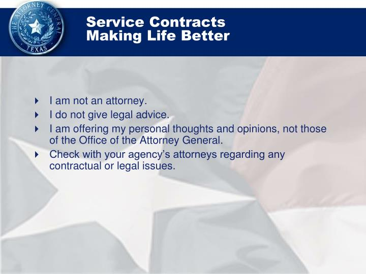 Service contracts making life better1