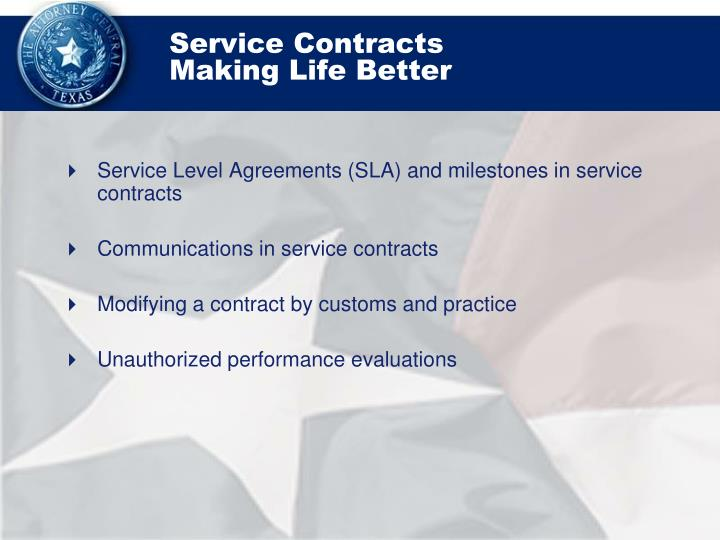 Service contracts making life better2