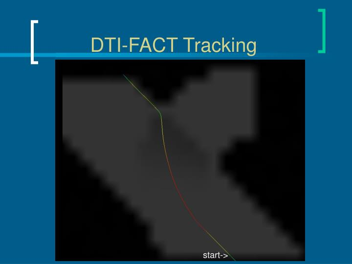 DTI-FACT Tracking