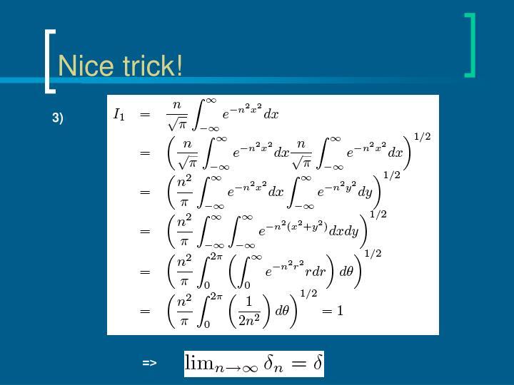 Nice trick!