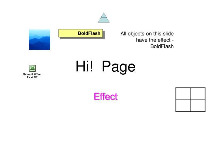 Hi!  Page