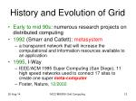 history and evolution of grid1