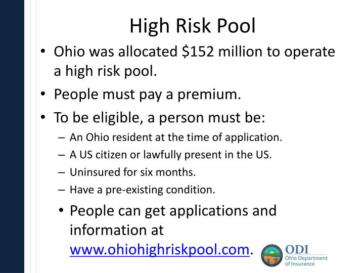 High Risk Pool