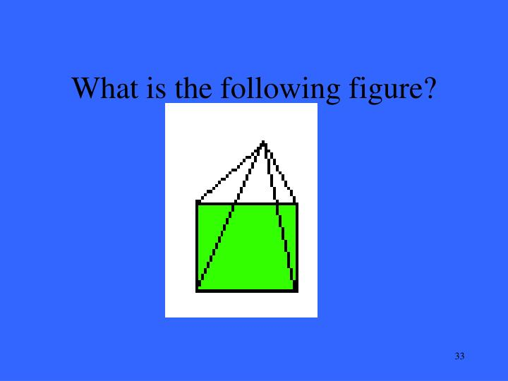 What is the following figure?