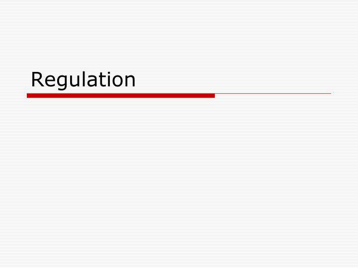 regulation n.