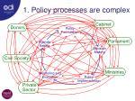 1 policy processes are complex1