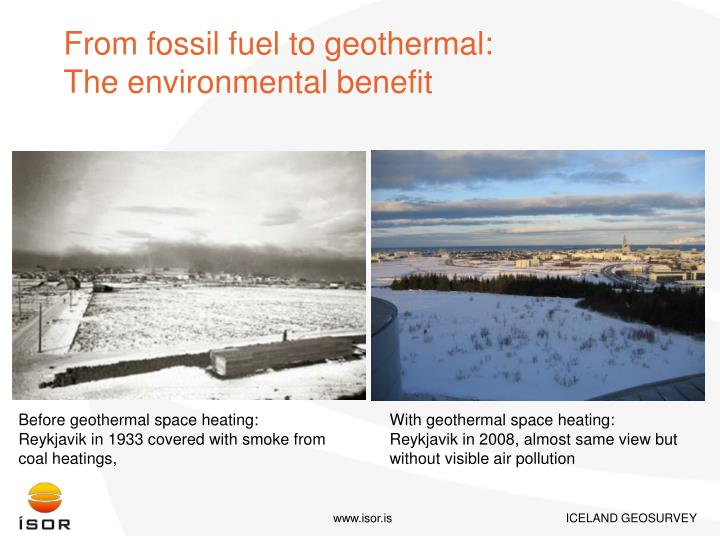 From fossil fuel to geothermal: