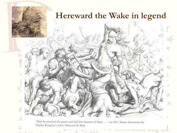Hereward the Wake in legend