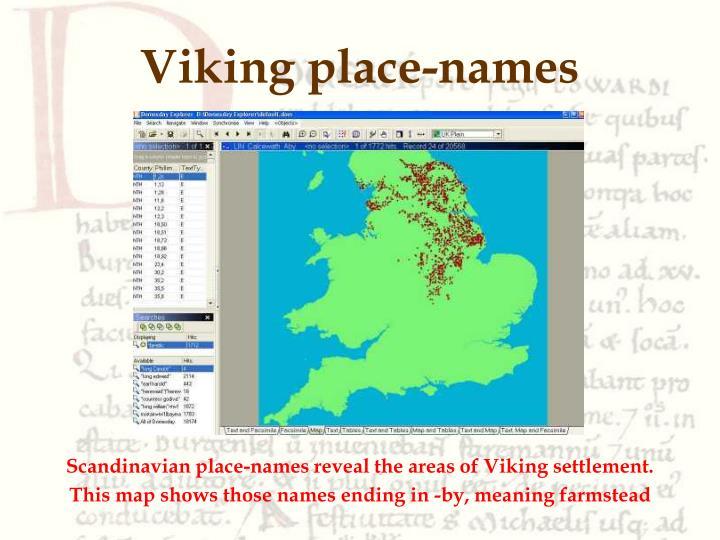 Viking place-names