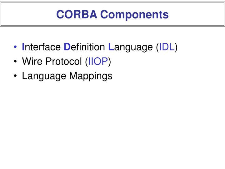 CORBA Components