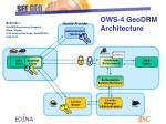 ows 4 geodrm architecture