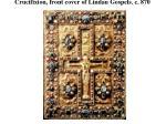 crucifixion front cover of lindau gospels c 870