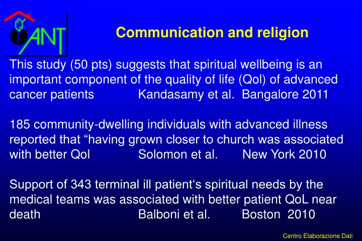 Communication and religion