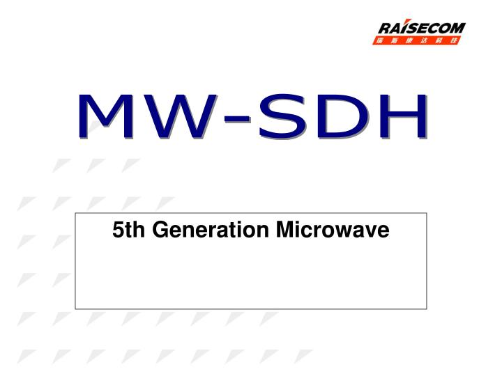 5th generation microwave