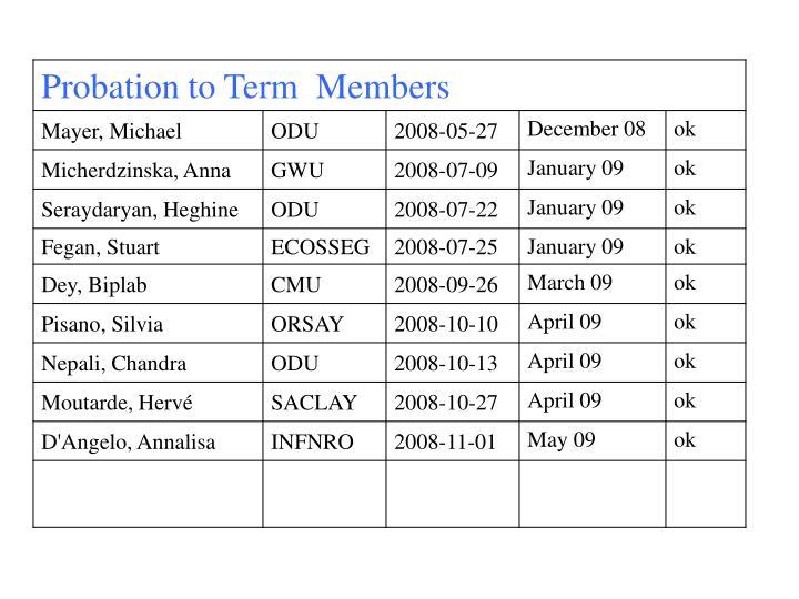 Clas membership meeting winter 2009