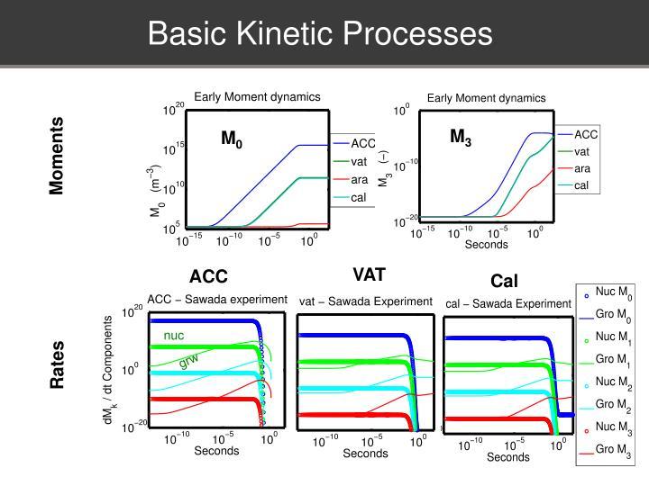 Basic Kinetic Processes