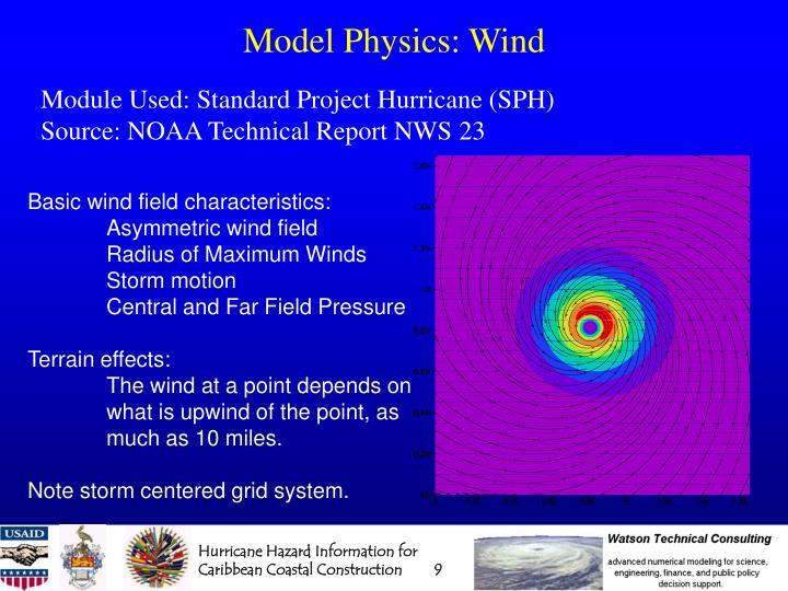 Model Physics: Wind