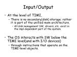 input output1