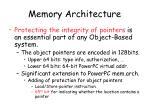 memory architecture1