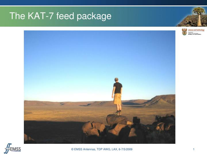 the kat 7 feed package n.
