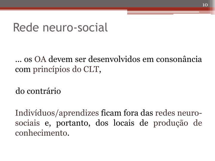 Rede neuro-social