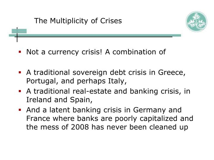 The Multiplicity of Crises