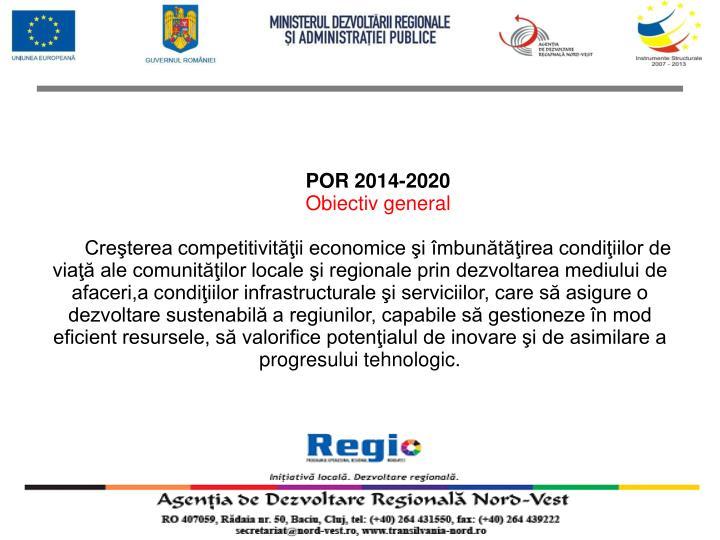 POR 2014-2020