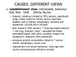 causes different views