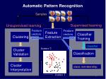 automatic pattern recognition2