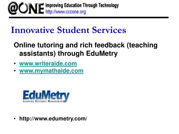 Innovative Student Services