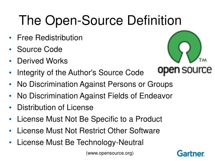 The Open-Source Definition