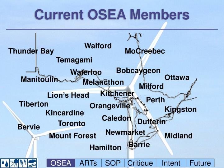 Current OSEA Members