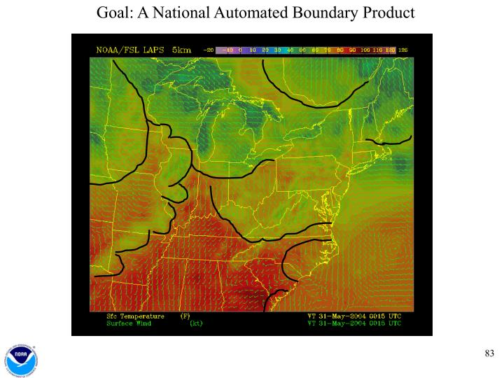 Goal: A National Automated Boundary Product