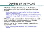 devices on the wlan